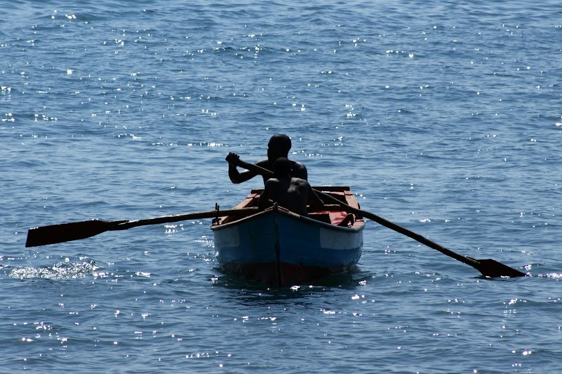 Pescadores em Cabo Verde