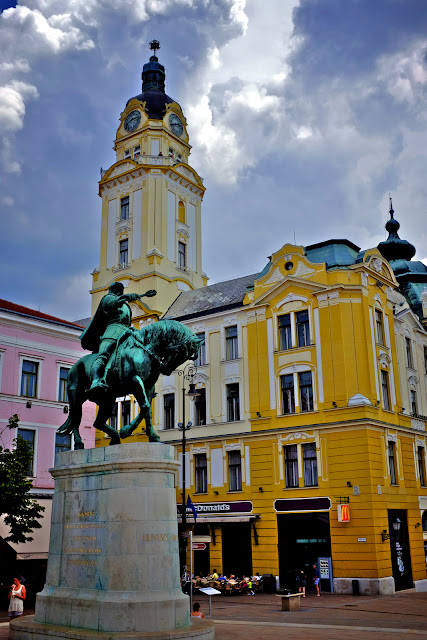 Pécs in Hungary