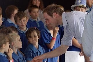 Prince William Wedding News: Prince  William eases the pain of disaster.