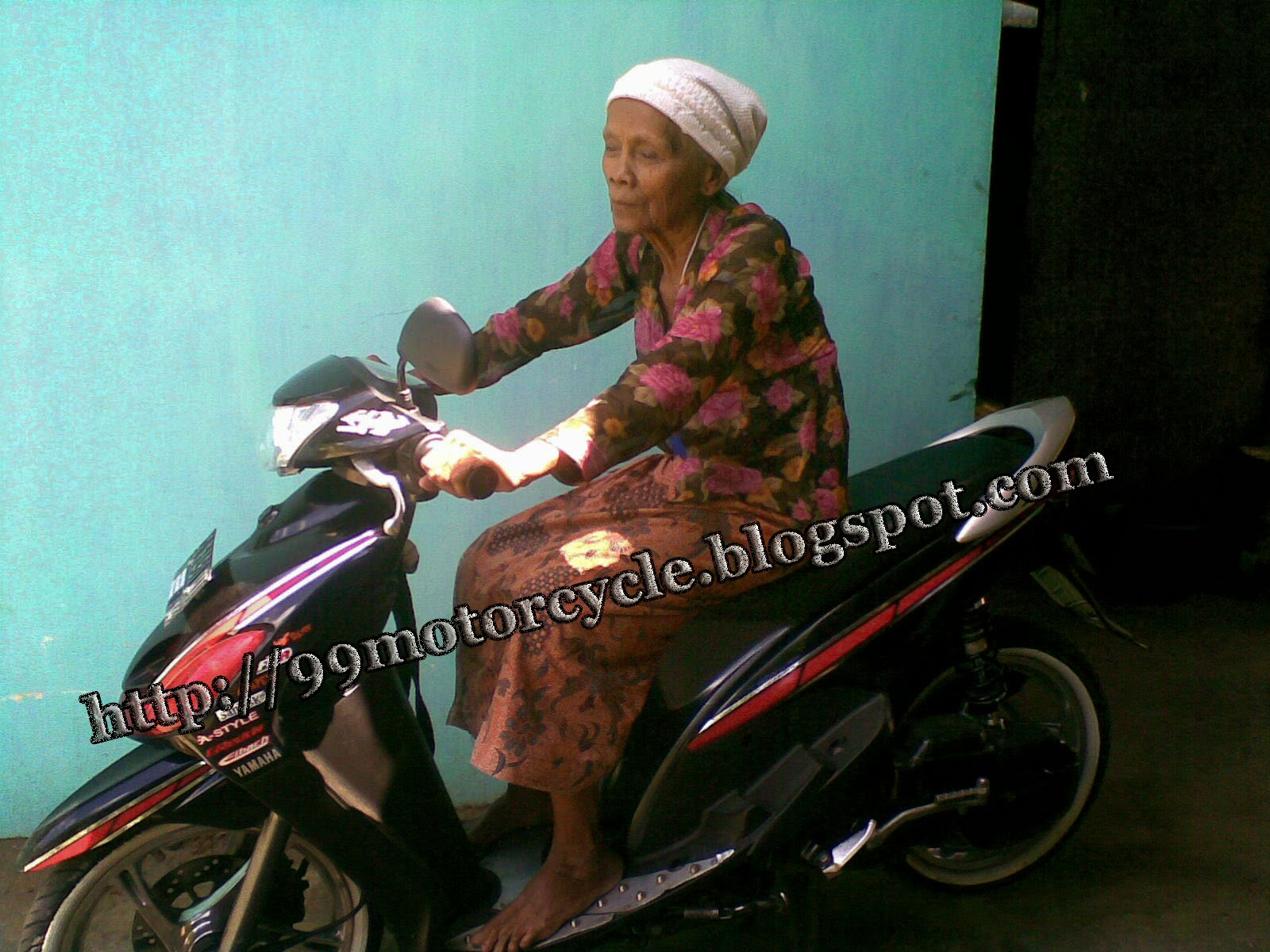 Modifikasi Motor Mio Sporty Simple