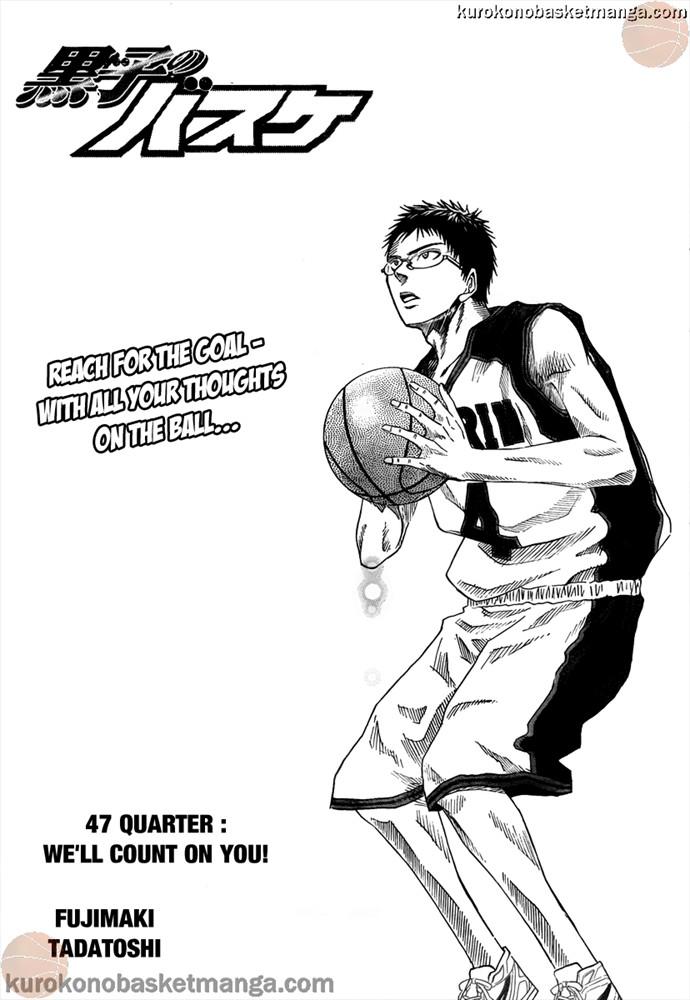 Kuroko no Basket Manga Chapter 48 - Image 01