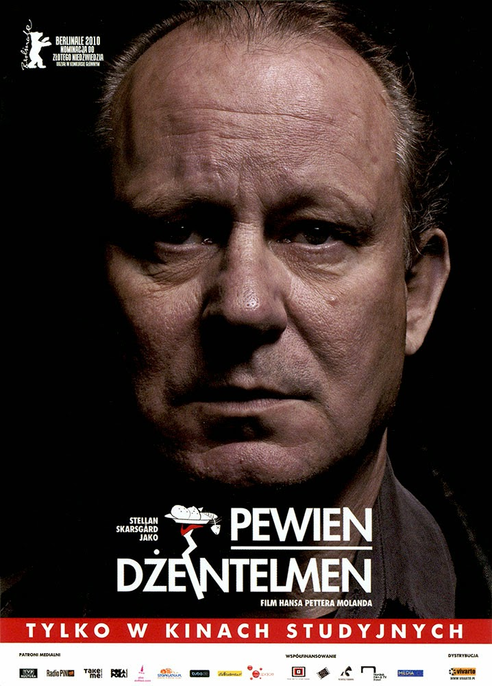 Ulotka filmu 'Pewien Dżentelmen (przód)'