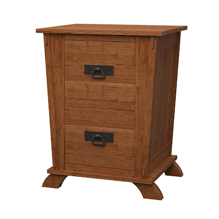 Baroque File Cabinet in Itasca Maple