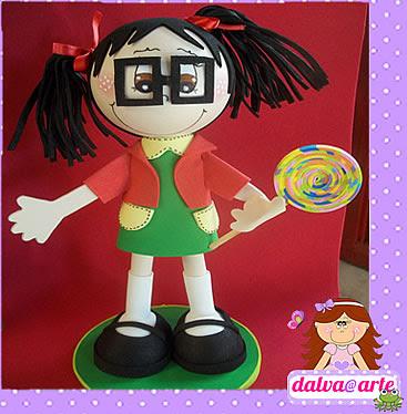 boneca EVA chiquinha