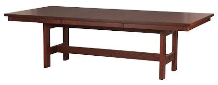 "100"" x 48"" Groveland Dining Table in Pecan Oak"