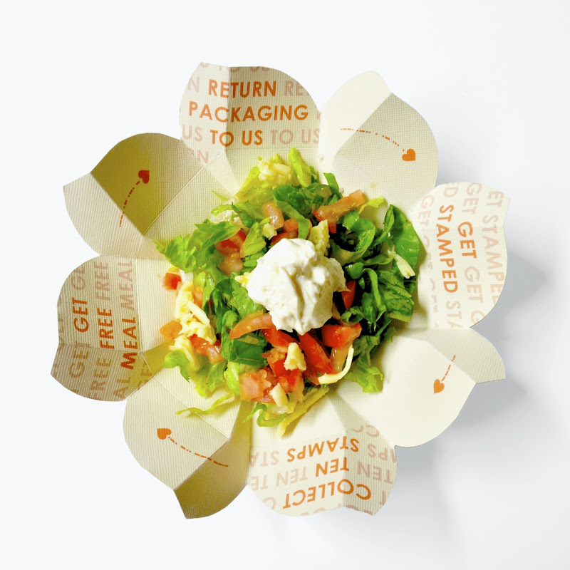 Restaurante propõe embalagem para marmita sustentável