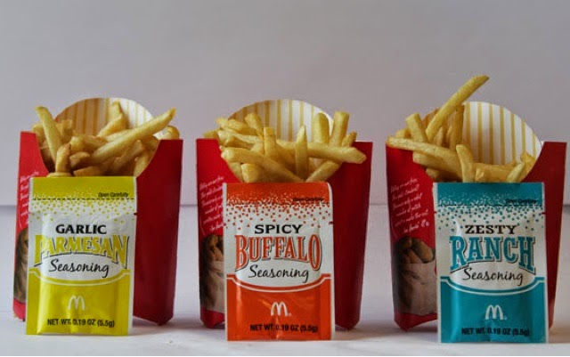 McDonald's Shaker Fries