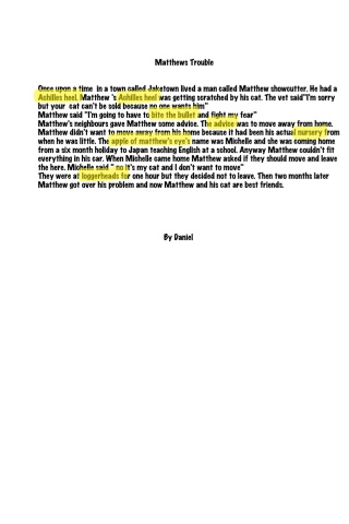 Using english idioms in writing good essays