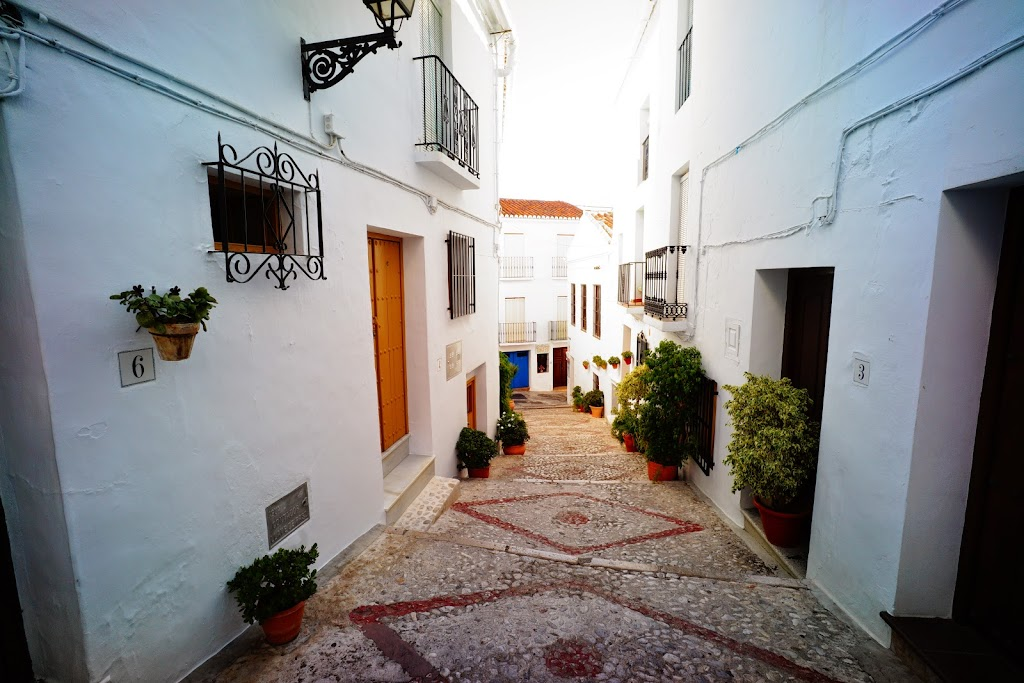 Frigiliana white villages Axarquia Malaga Spain