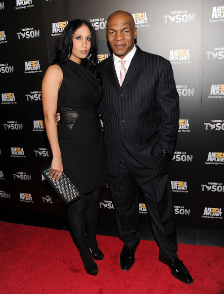 MILD: Boxer Mike Tyson and wife Lakiha Spicer attend the ...