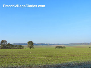 French Village Diaries December France countryside