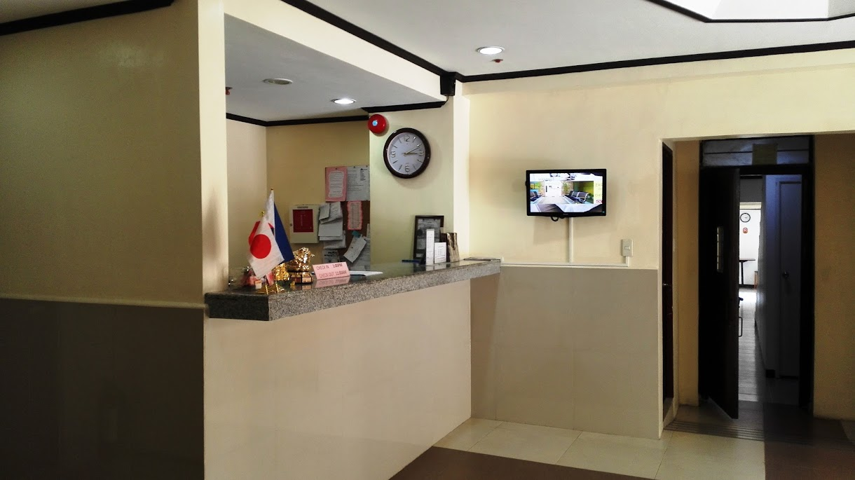 AMAX INN MAKATI RECEPTION AREA.