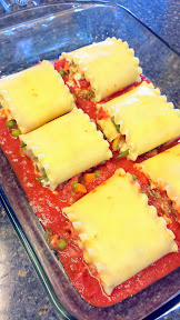 Roasted Vegetable Lasagna Rollups Recipe