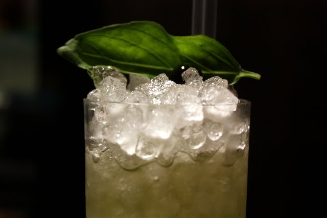Green Park Frost cocktail at the Met Bar in London England