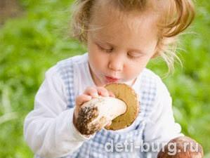 Можно ли ребенку грибы