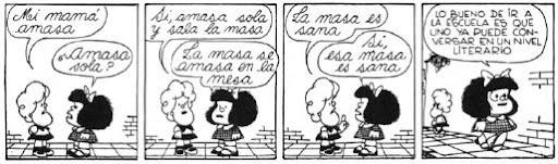 mafalda y susanita: conversar con un buen nivel literario