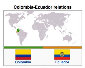 Colombia - Ecuador Relations