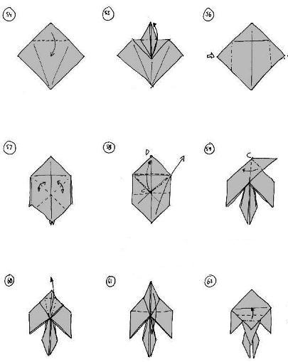 Origami Instructions Atlas Beetle 3D