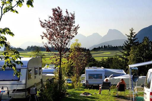 Camping Innsbruck/Natterer See, Natterer See 1, 6161 Natters, Österreich, Campingplatz, state Tirol