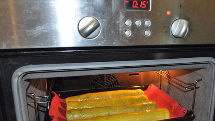 Előmelegített sütő a beiglihez