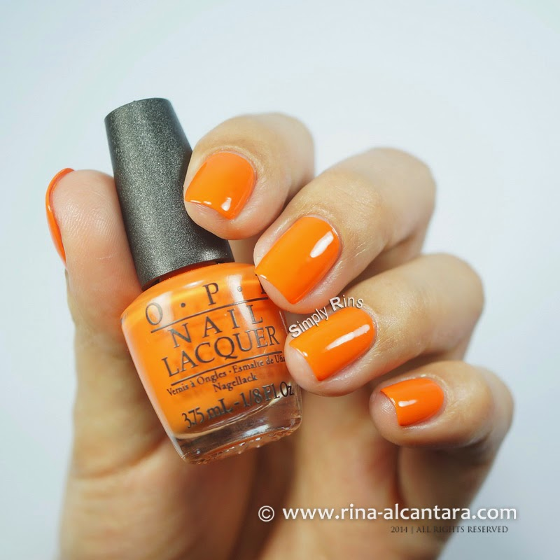 OPI Orange You Stylish