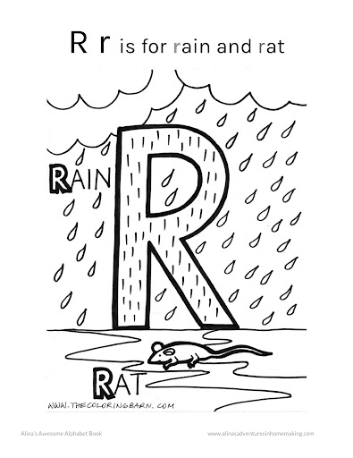 R Is For Rats In The Rain