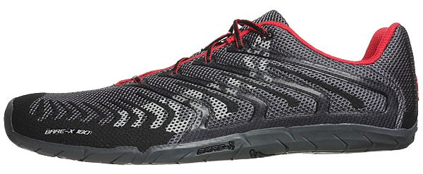 Inov-8 Bare-X 180 logo side