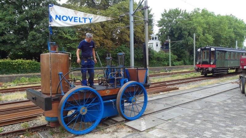 oudste stoomlocomotieven bij Spoorwegmuseum