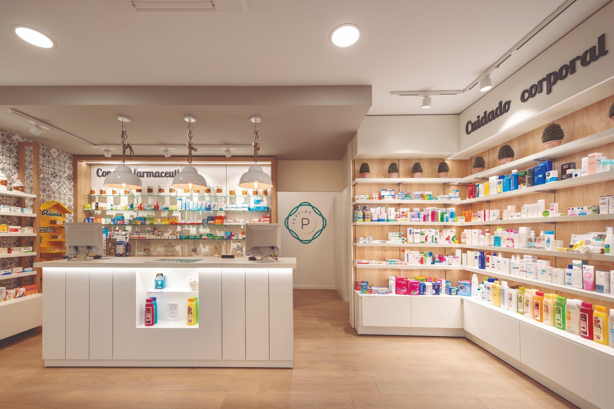 Secciones en farmacia