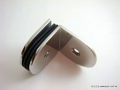 裝潢五金品名:CH705-玻璃夾(單邊) 規格: 10MM 顏色:PC 玖品五金