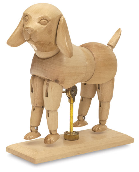 El perro moderno el perro maniqu - Maniqui de perro ...