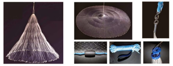 Nr.3 Wurfnetz 3,66m Durchmesser.Angelnetz,Neues Profi Wurfnetz Model.Cast Netz