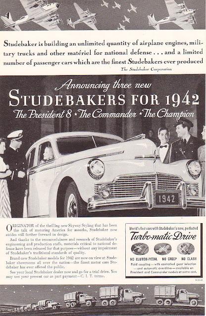 1942 Studebakers