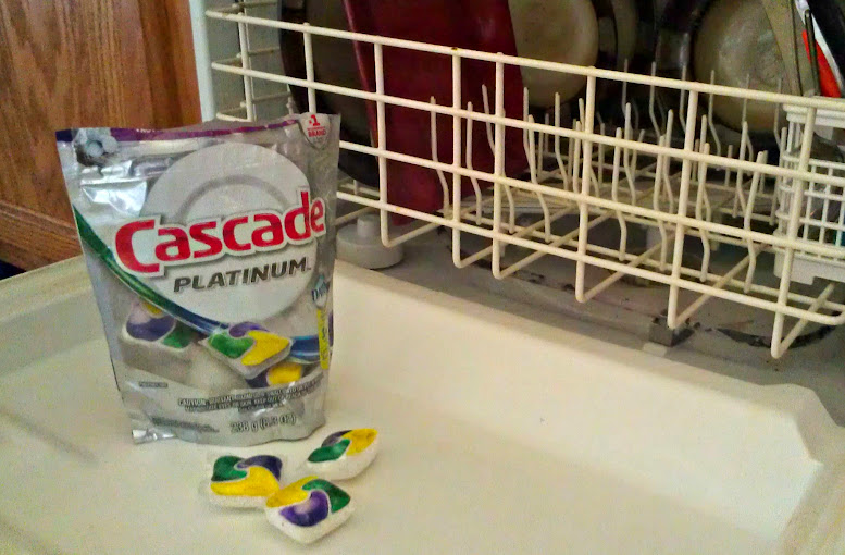 Cascade Platinum Pacs for Dishwashers #MyPlatinum