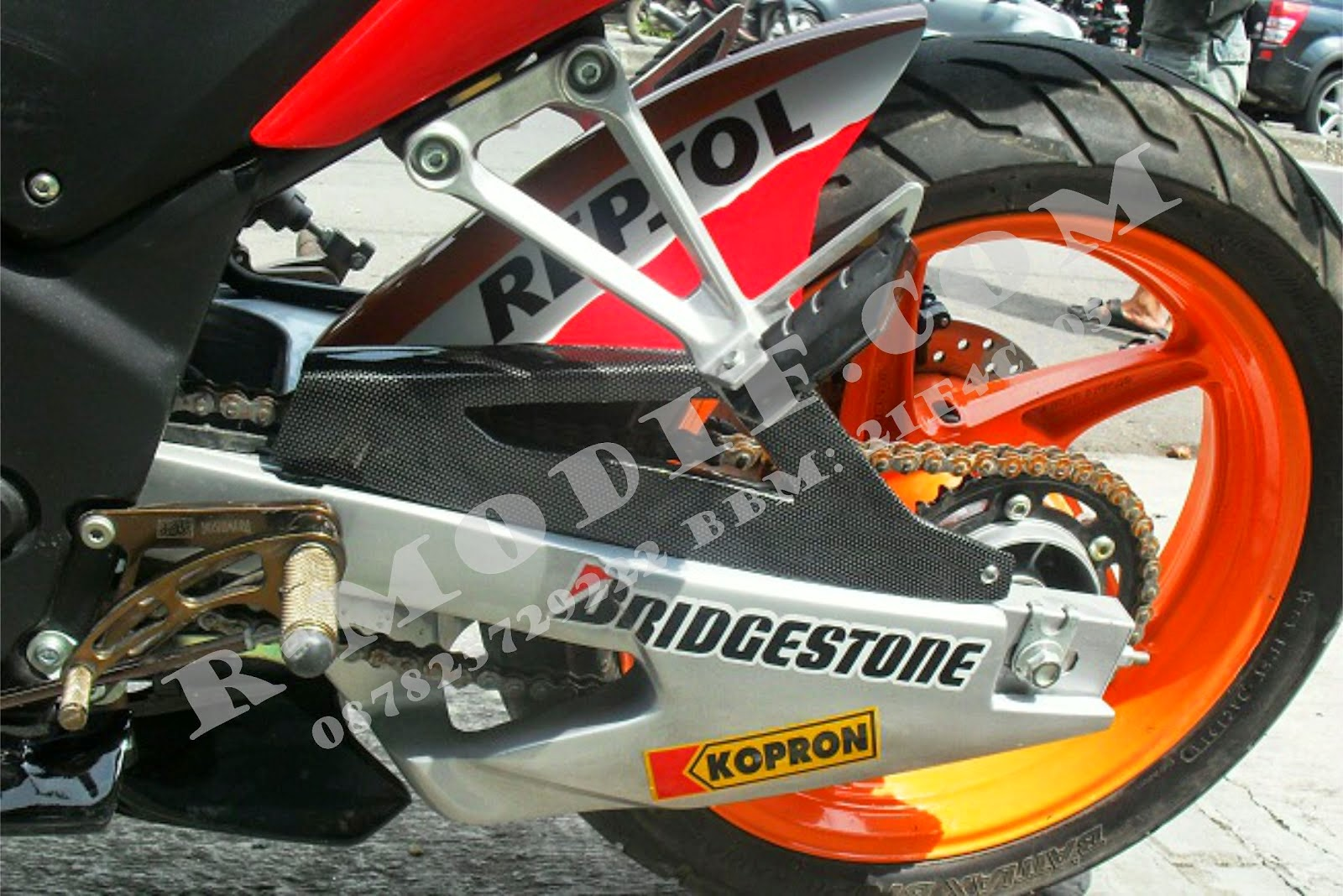 Modifikasi Honda Cbr 150r Fi