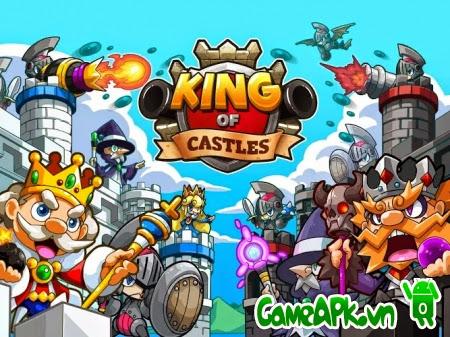 King of Castles v1.4.2513_2140 hack full tiền & đá quý cho Android