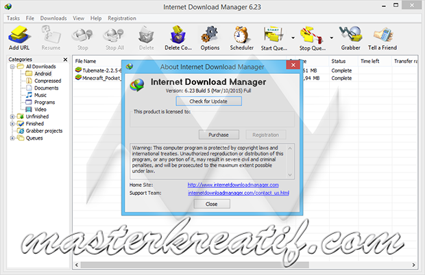Internet Download Manager 6.23 Build 5