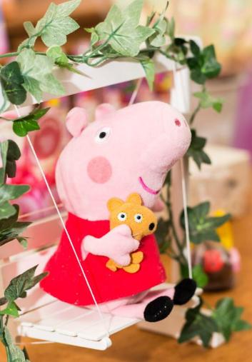 aniversário tema Peppa Pig