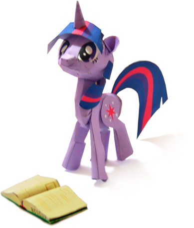 My Little Pony Papercraft Twilight Sparkle