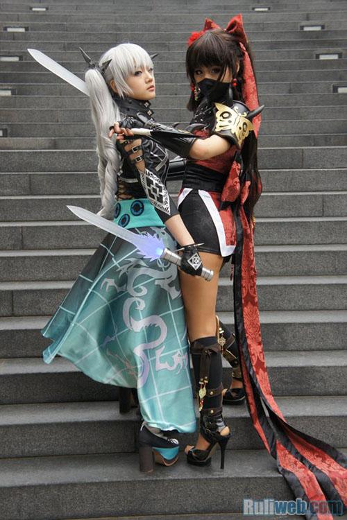 Kiều nữ Miyuko hút hồn với cosplay Cyphers 7