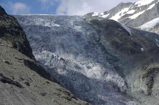 Séracs du bas glacier d'Arolla