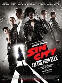 Jaquette de Sin City : j'ai tué pour elle