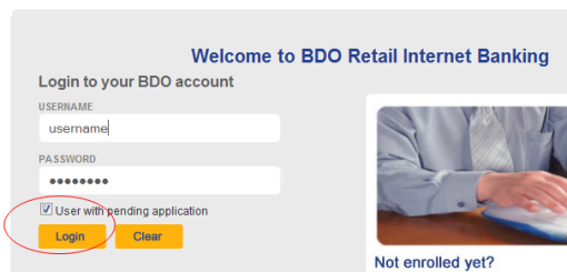 pay smartbro using BDO internet banking