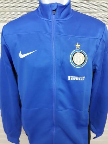 Jual Jaket Training Inter Milan Biru Polos 2014