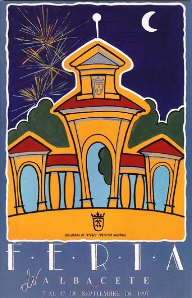 Cartel Feria Albacete 1997