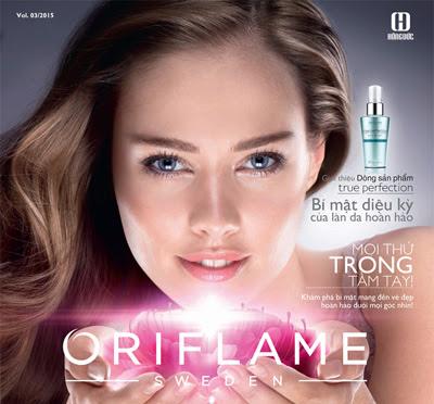 Catalog Oriflame tháng 3/2015