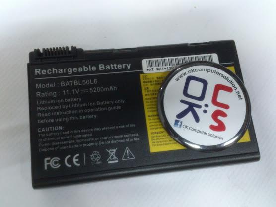 Battery bateri for Acer Aspire 3100 3690 5100 5110 5610