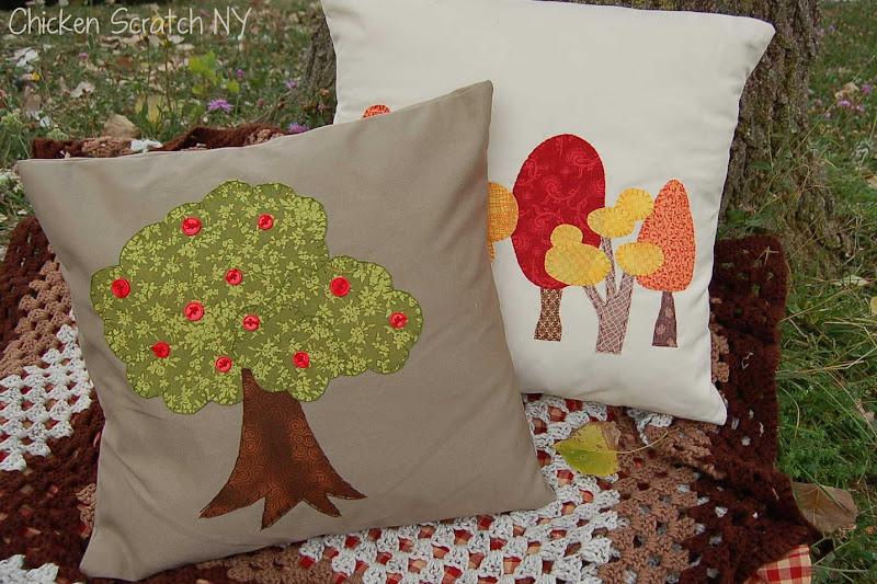 Fall Tree Aillows