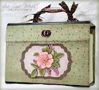 Altered Greeting Card Box