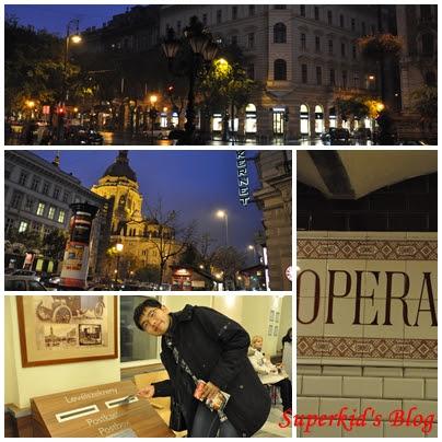 我在歌劇院附近